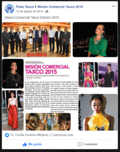 Mision comercial Taxco 2015